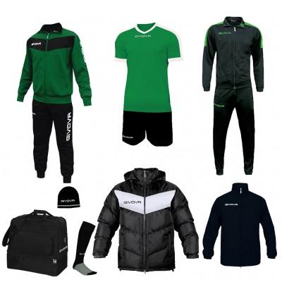 Футболен комплект Box Concept, Givova - 8 ч.