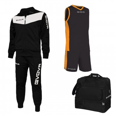 Баскетболен комплект Box Concept, Givova - 3 ч.