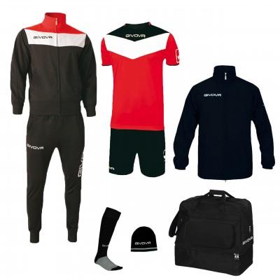 Футболен комплект Bоx Concept, Givova - 6 ч.