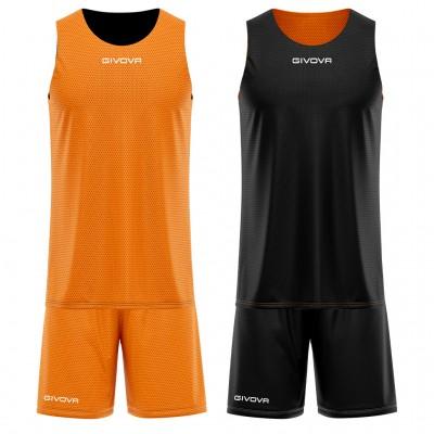Двулицев баскетболен екип Kit Double, GIVOVA