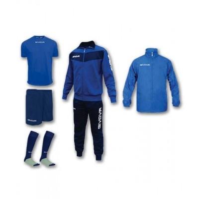 Спортен комплект Box Visa Blue, Givova - 5 ч.
